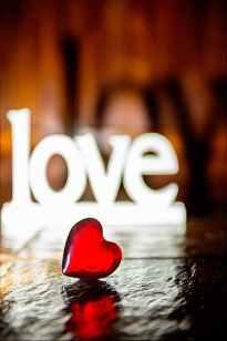 closeup photo of red heart shaped figure